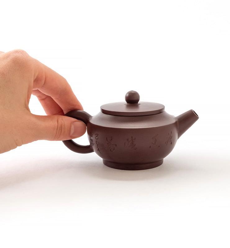 Чайник из исинской глины 100 мл. в ханьском стиле  - фото 5