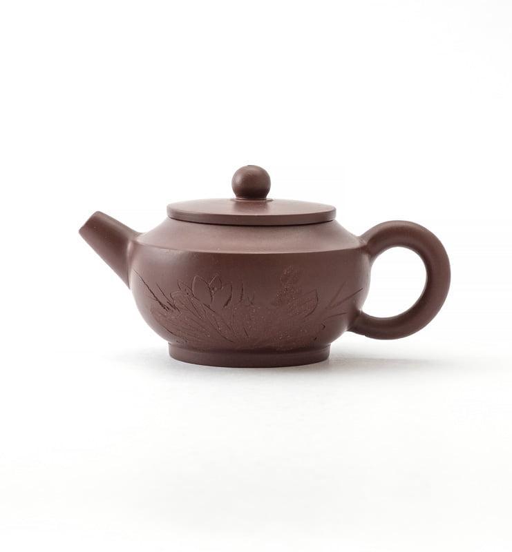 Чайник из исинской глины 100 мл. в ханьском стиле  - фото
