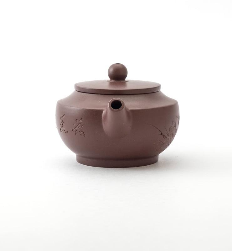 Чайник из исинской глины 100 мл. в ханьском стиле  - фото 3