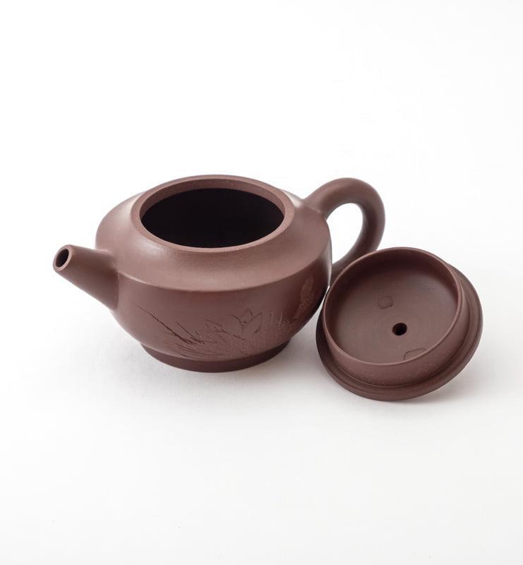 Чайник из исинской глины 100 мл. в ханьском стиле  - фото 4