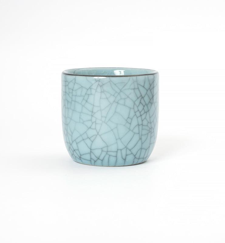 Чашки Цин Ци (селадон) из Лунцюаня 100 мл.  - фото 4