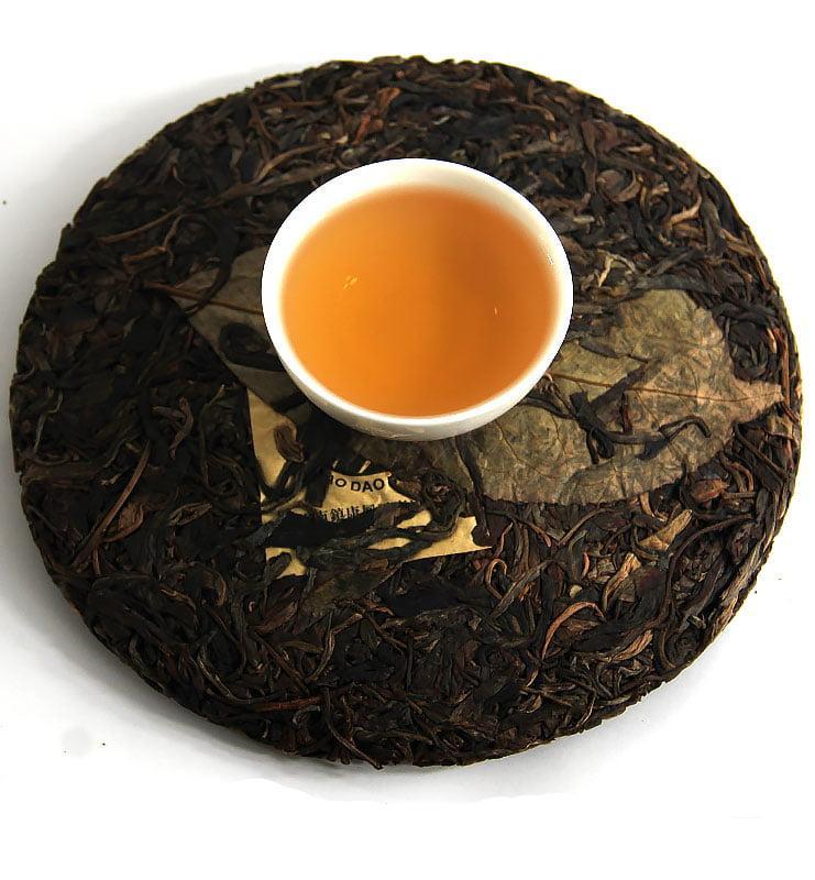 Шэн Пуэр «Бао Дао Шэн» прессованный чай 2015 г (№ 300)  - фото 3