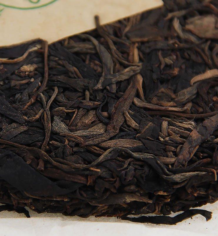 """baodao green 3 - Шэн Пуэр """"Бао Дао Шэн"""" прессованный чай 2014г (№300)"""