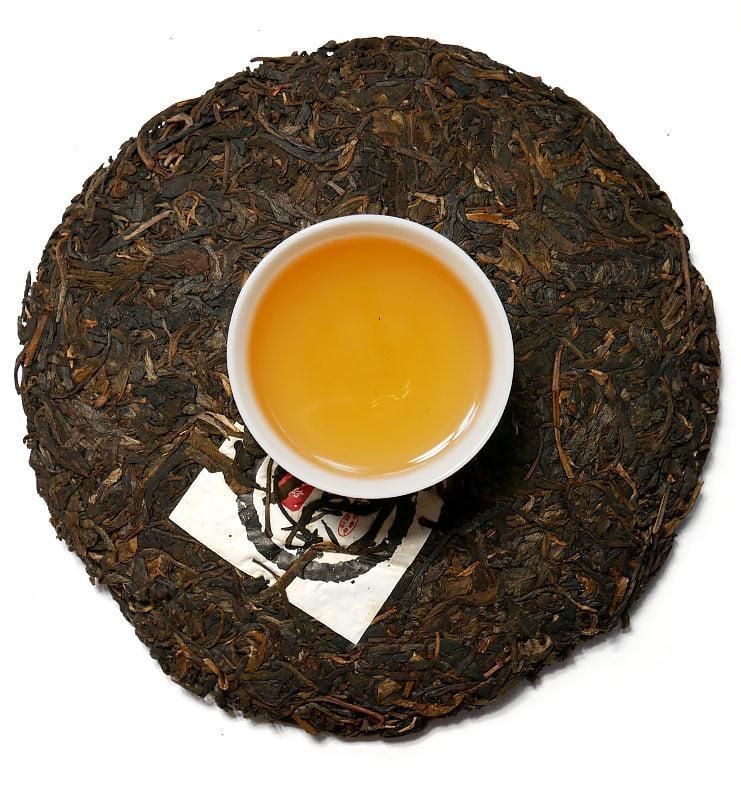 Шэн Пуэр «И У Лао Шэн» прессованный чай 2002 г (№1000)  - фото 4