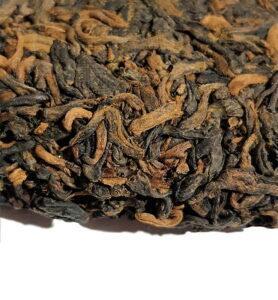 Шу Пуэр «Фу Гу 88» чай выдержанный 2006г. (№800)  - фото 2