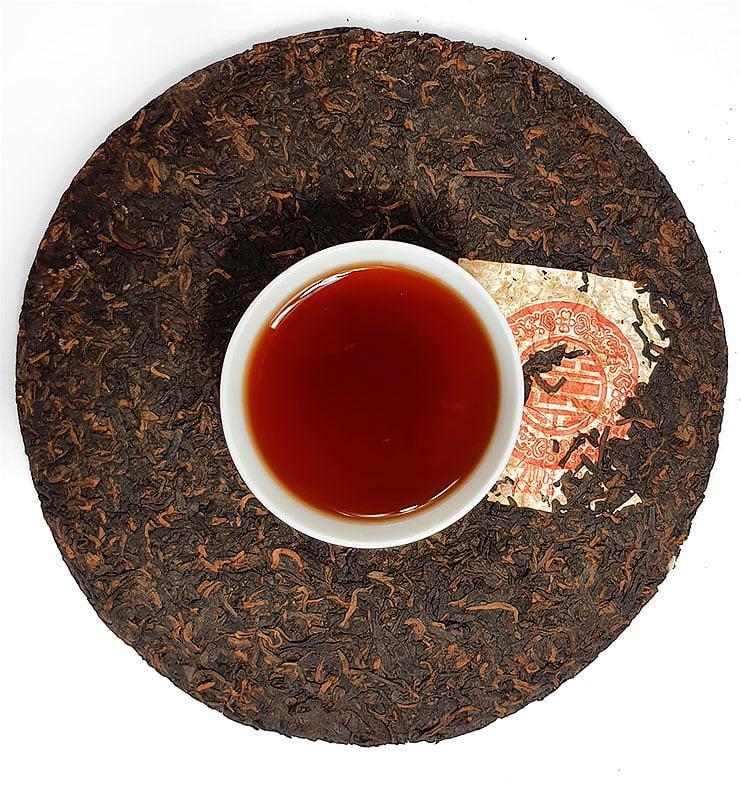 """pinki 5 - Шу Пуэр """"Фу Гу 88"""" чай выдержанный 2006г. (№800)"""