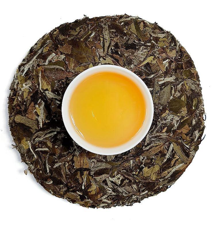 "Белый прессованный чай ""Бай Му Дань Бин"" 2017г (№800)"