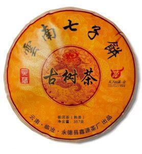 Чай Шу Пуэр «Гу Шу Ча» 2016г (№180)  - фото