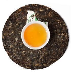 Шэн Пуэр «Бань Чжан И Хоу» чай 2006г (№360)  - фото 2