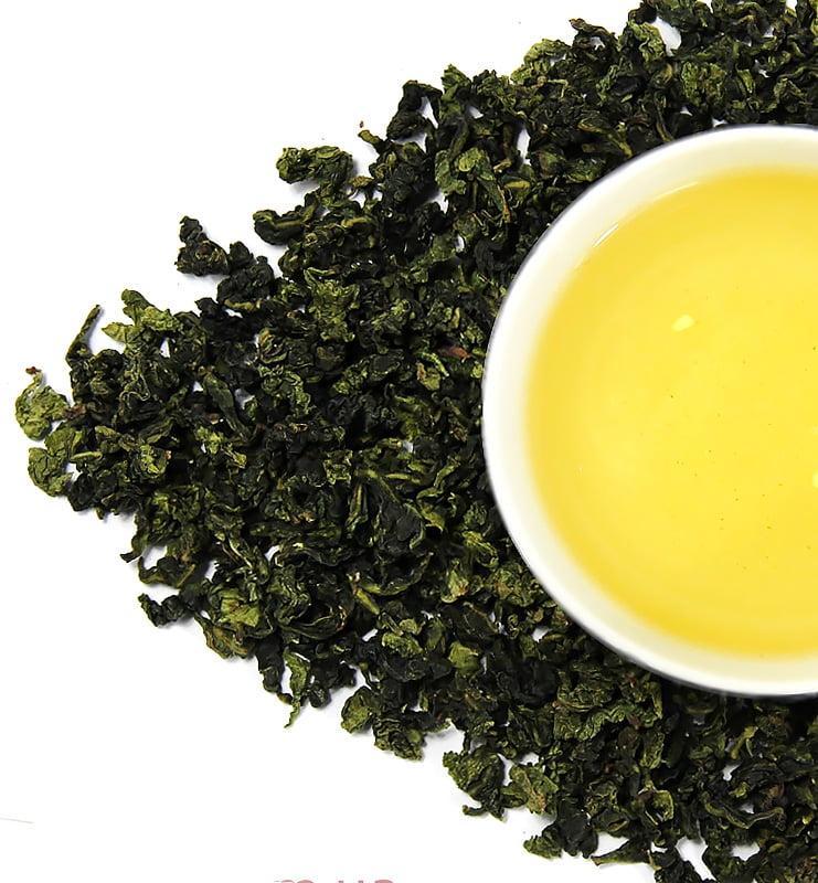 Те Гуань Инь светлый Улун бирюзовый чай (№600)  - фото 2