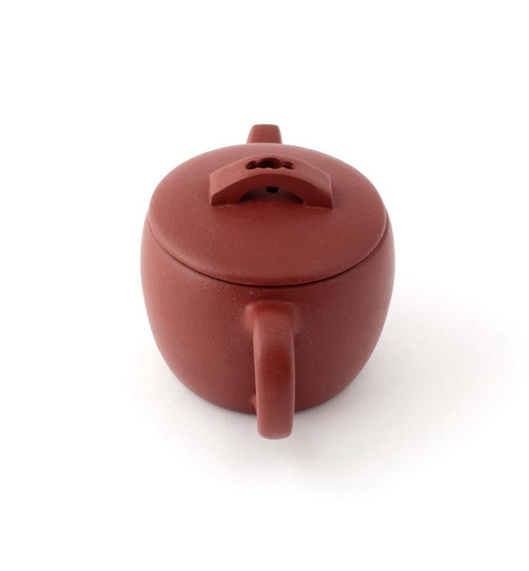 chainika 3 - Чайник из исинской глины «Хань Ва Ху» (Ханьская черепица) 90 мл.