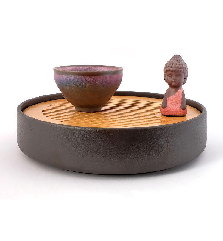 cup rbw 13 - Чашка керамические Тэммоку «Шелковая радуга» 75мл