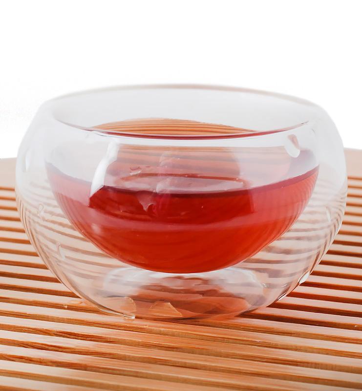 Чашка из стекла с двойными стенками 35 мл