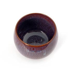 cuppur 3 278x300 - Чашка керамические Тэммоку фиолетовая 70мл