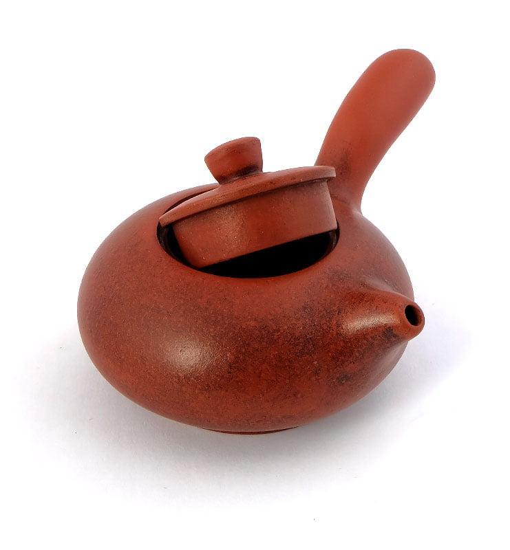Чайник из исинской глины с боковой ручкой 100 мл.  - фото 5