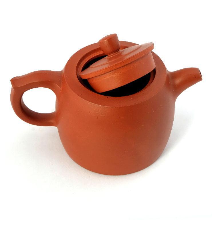 Чайник из исинской глины «Цзинлань» (Ограда колодца) 225 мл.  - фото 4