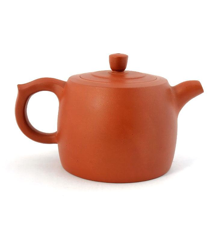 Чайник из исинской глины «Цзинлань» (Ограда колодца) 225 мл.  - фото 7