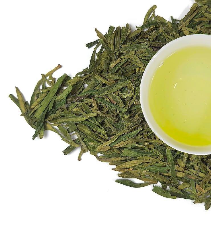 Мэй Цзя У Лун Цзин, китайский зеленый чай (№1200)