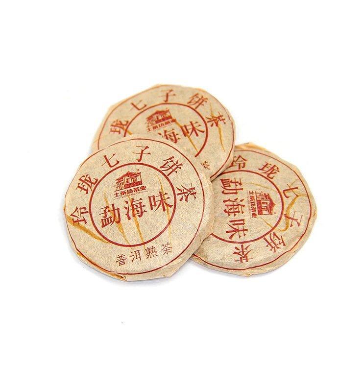 И Дай И Лу, прессованный в микроблинчики Шу Пуэр (№300)