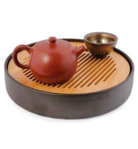 teapot21 278x300 - Чайник из исинской глины «Цзинлань» (Ограда колодца), 200 мл