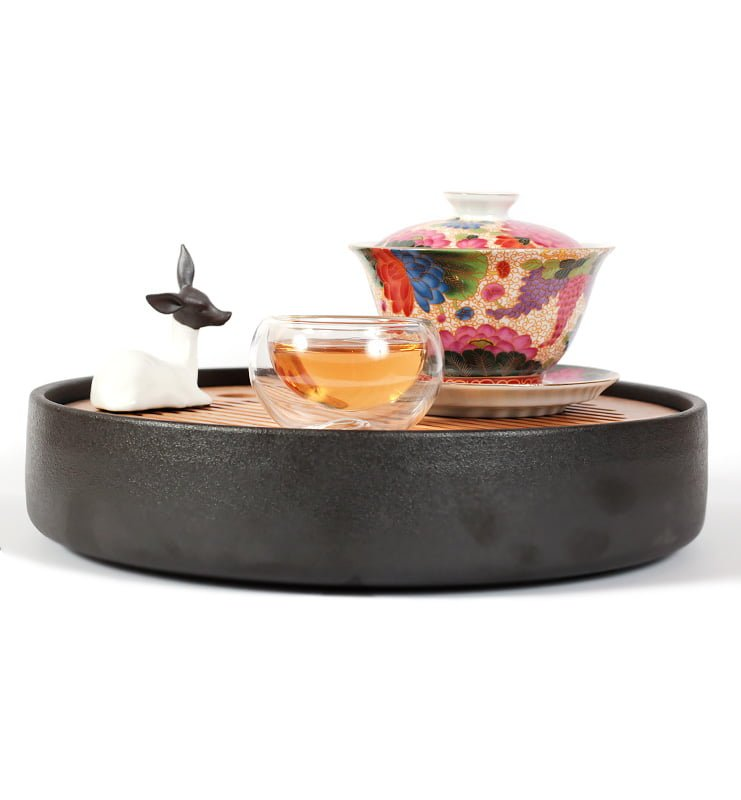 cvetok 4 - Гайвань «Цветущий сад» для традиционного заваривания чая, 180 мл