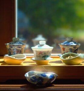 Дегустация с тремя коллекционными чаями