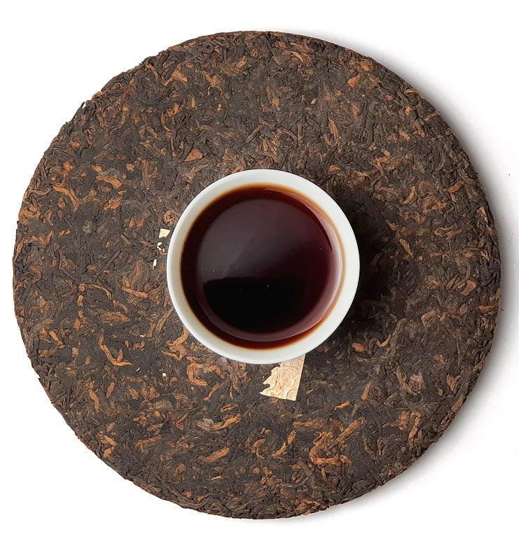 Цзинь Дин Тао, прессованный чай Шу Пуэр 2006 года (№800)