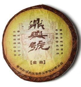 Цзинь Дін Тао, пресованый чай Шу Пуер 2006 року (№800)