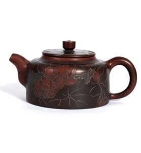 """Чайник із Нісиньскої глини """"Лотосовий ставок"""" 250 мл."""